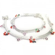 Anklets Indian fancy jewelry colors