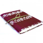 Indian burgundy pocket diary