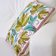 Cushion cover Kashmir green L40
