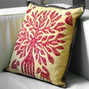 Cushion cover stitched Orange L42