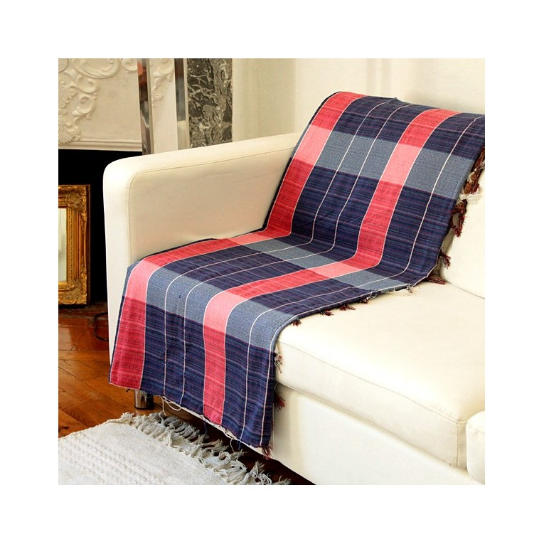 Blue And Red Sofa Covers From India By Pankaj Indian Webstore