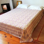 Indian printed bed sheet Jaipuri