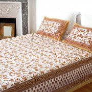 Indian printed bed sheet Rai