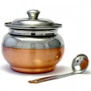 Ghee dani Stainless steel pot Ø11