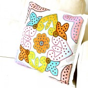 Cushion cover coton Rangoli