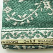 Carpet for picnic Indian Chatai green grey