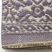 Carpet for picnic Indian Chatai violet