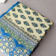 Indian printed tablecloth Blue