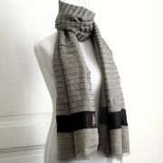 Indian Cashemere wool scarf brown