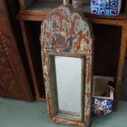 Indian ancient wooden mirror Aaina
