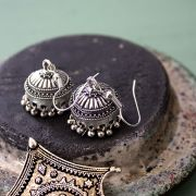 Boucles d'oreilles indiennes Jhumka tradition