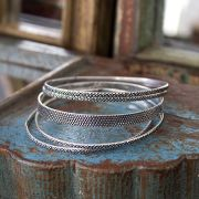 Indian ethnic metal bangles x5