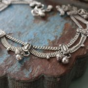 Indian metal anklet Payjeb