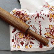 Indian wooden roller for chapati Belan
