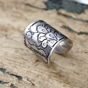 Indian metal ring for man