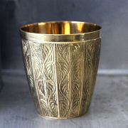 Indian traditional brass glass