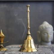 Traditional Indian brass bell Ghanti