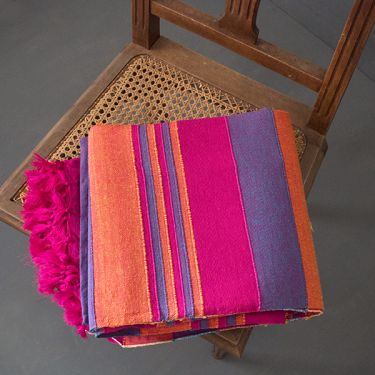 Indian sofa or bed cover colorful