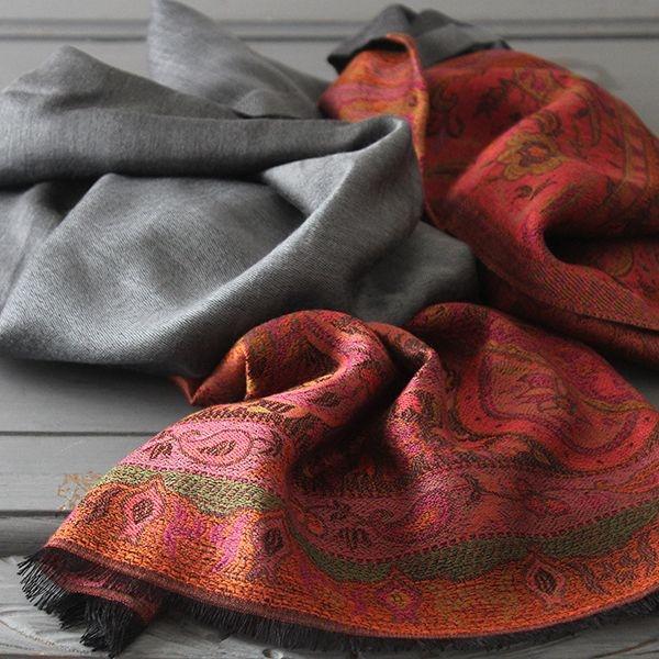Belle charpe indienne artisanat indien par pankaj for Vetements artisanat indien