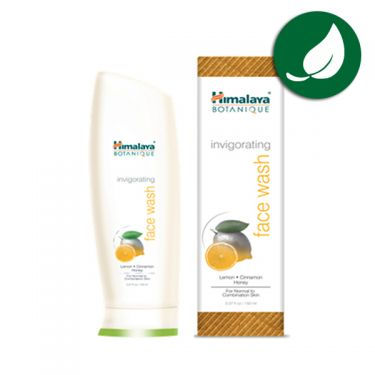 Cleansing face gel invigorating Himalaya