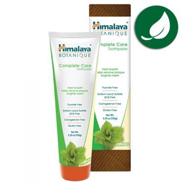 Herbal toothpaste organic peppermint Himalaya