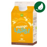 Indian lassi mango organic