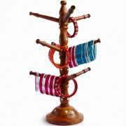 Bangles stand wooden
