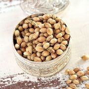 Coriander seeds Indian spice