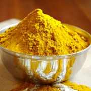Turmeric powder Indian spice