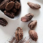 Cardamom seeds Black Indian spice