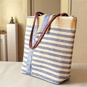 Kolkata natural Indian Blue bag