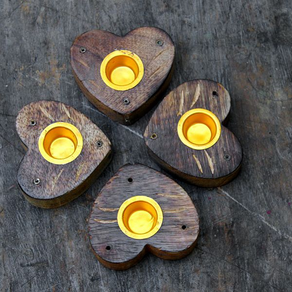 Indian Wooden Candle Stand Decorative Item By Pankaj Indian Webstore