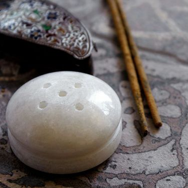 Indian marble incense sticks stand
