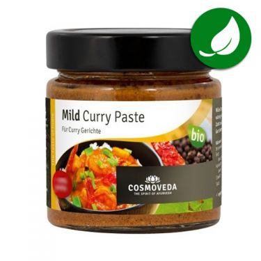 Indian curry paste Mild organic