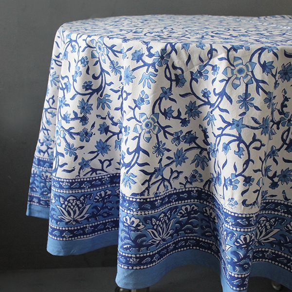 Indian Cotton Round Table Covers Indian Handicraft By