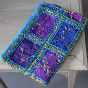 Indian wall hanging blue