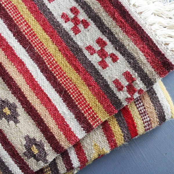 Indian Cotton And Wool Carpet Home Decoration By Pankaj Indian E Shop