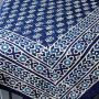 Nappe indienne traditionnelle en coton