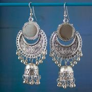 Indian earrings long Jhumki jewel