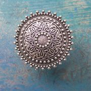 Indian ethnic ring adjustable