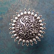 Indian ethnic ring adjustable Flowers