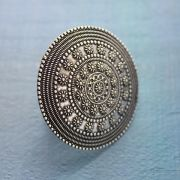 Indian ethnic ring adjustable Pearls
