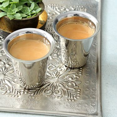 Indian stainless steel tea glass Bhalaria