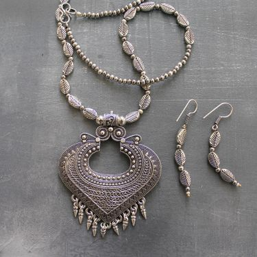 Indian traditional jewelry set tribal design
