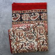 Nappe artisanale indienne