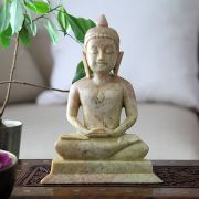 Indian handicraft marble Buddha statue