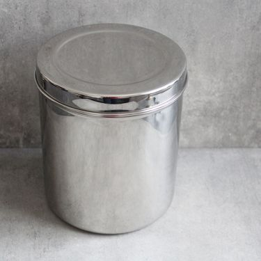Indian stainless steel box Dabba L