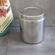 Indian stainless steel box Dabba M