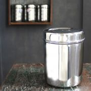 Indian stainless steel box Dabba 14cm