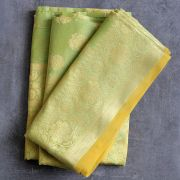 Indian saree cotton light green color
